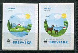 Sweden 2015 Suecia / WWF Nature Joint Issue Denmark MNH Emision Conjunta Dinamarca / Cu6808  34-49 - Emisiones Comunes
