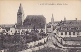 Bas-Rhin - Wissembourg - L'Eglise St-Jean - Wissembourg