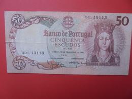 PORTUGAL 50 ESCUDOS 1964 CIRCULER - Portogallo