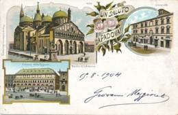 2a.673. Un Saluto Da PADOVA - 1904 - Padova (Padua)