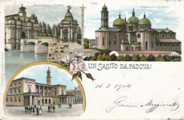 2a.674. Un Saluto Da PADOVA - 1904 - Padova (Padua)