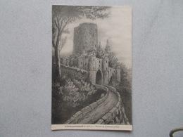 CHATEAURENAULT (37 Indre Et Loir ) RUINES DU CHATEAU (1327) D Apres ILLUSTRATION  VOYAGEE 1906 - France