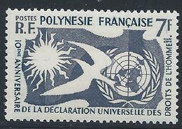 Polynésie YT 12 XX / MNH - Nuovi