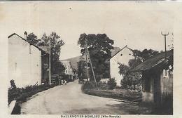 74, Haute-Savoie, SALLENOVES BONLIEU, Une Rue Du Bourg, Scan Recto Verso - France