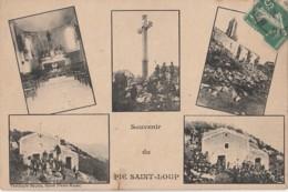 J19- 34) PIC SAINT LOUP (HÉRAULT)  SOUVENIR - (5 VUES  - 2 SCANS) - France