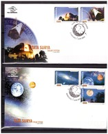 Indonesia 2003 FDC Space Planets Solar System Telescope - Indonesia