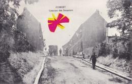 JEUMONT - Caserne Des Douaniers - Carte Animée Et Circulé En 1912 - Jeumont