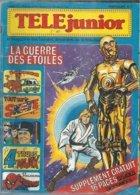 TELE JUNIOR  N° 3  ( COUVERTURE: N. FERSEN )  1977 - Bücher, Zeitschriften, Comics