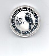 AUSTRALIE 1 DOLLAR 2000 ZILVER KOOKABURRA - 5 Dollars