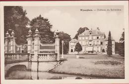 Wijnegem Wyneghem Chateau Du Belvere Kasteel (In Goede Staat) Reclame Stempel Cachet GEBRUIK SABENA - Wijnegem