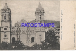 129799 PANAMA ISTMO VIEW CATHEDRAL POSTAL POSTCARD - Panama