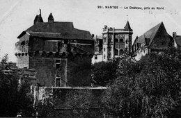Nantes -  Le  Châtean  Pris  Au  Nord. - Nantes