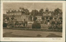 Ansichtskarte Innere Altstadt-Dresden Dresdner Zwinger 1920 - Dresden