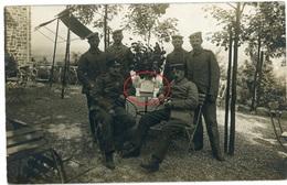 SPA Belgien- Landwehr Landsturm  - Deutsche Soldaten - Carte Photo Allemande 1914-1918 WWI - Autres