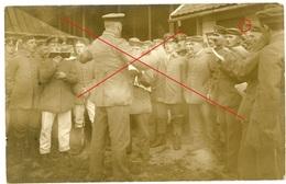 SPA Belgien- Landwehr Landsturm Gesangabteilung - Deutsche Soldaten - Carte Photo Allemande 1914-1918 WWI - Autres
