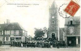 N°3830 T -cpa Juvigny Le Tertre -l'église -sortie De Messe- - Other Municipalities