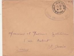 Lettre Franchise Militaire Cachet Oval Base Aéronautique DUNKERQUE + POSTE NAVALE BUREAU N° 17 15/11/1939 - Marcophilie (Lettres)