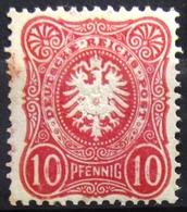 ALLEMAGNE  EMPIRE                    N° 38                      NEUF*         (rouille) - Deutschland
