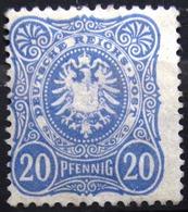 ALLEMAGNE  EMPIRE                    N° 39                      NEUF* - Duitsland