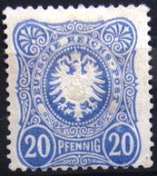 ALLEMAGNE  EMPIRE                    N° 39                      NEUF* - Deutschland