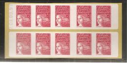 France, 3085a-C1, Type II, Daté, Carnet Neuf, Non Plié, TTB, Sagem, Essayez L'enveloppe Pré-timbrée, Marianne De Briat - Carnets