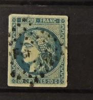 02 - 20 // France - N° 46B - Type III - Report 2 - TB -   Cote : 25 Euros - 1870 Ausgabe Bordeaux
