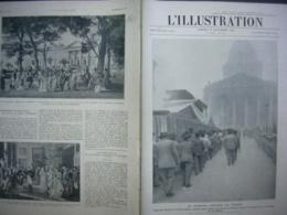 L'ILLUSTRATION 4265 JAURES AU PANTHEON/ MAROC/ AFGHANISTAN/ NAVIRE A ROTEURS/ PETROLE GABIAN - L'Illustration