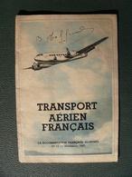 Transport Aérien Français Novembre 1947 Dont Maquette Aéroport D'Orly - Books, Magazines, Comics