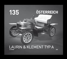 Austria 2020 Mih. 3504 Automobile Laurin & Klement Type A (black Proof) MNH ** - Proofs & Reprints