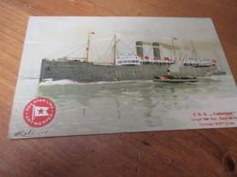 Red Star Line, TSS Vaderland - Steamers