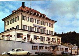 (137) CPSM  Le Markstein  Hotel Restaurant  Belle Vue    (Bon Etat) - Other Municipalities