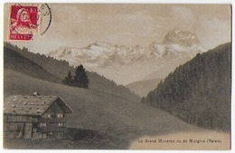 Cpa Bon Etat , Suisse , Valais ,  Le Grand Muveran  Vu De Morgins , Timbre Courrier , Explications Voir Verso - VS Valais