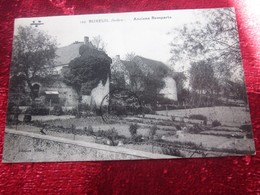 1915 CPA BUXEUIL ANCIENS REMPARTS [36] Indre  Carte Postale France Europe - France