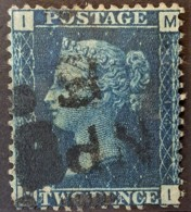 GREAT BRITAIN 1858/69 - Canceled - Sc# 30 - Plate 14 - 2d - Used Stamps