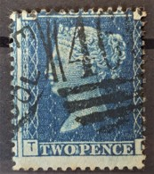 GREAT BRITAIN 1854/55 - Canceled - Sc# 13 - Plate 5 - 2d - Used Stamps