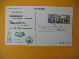 Carte Dear Doctor Biomarine 1950  Andorre La Maison Des Vallées - Pharmacy