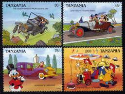 TANZANIE - 520/523**  - VOITURES DE DESSINS ANIMES - Tanzania (1964-...)