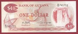 Guyana 1 Dollar 1992 (Sign 8) -----UNC - Guyana