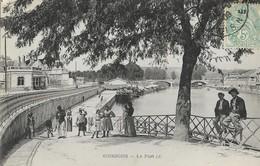 CARTE POSTALE ORIGINALE ANCIENNE : SOISSONS LE PORT TRES ANIMEE AISNE (02) - Soissons