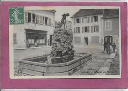 25.- ORNANS .- Fontaine Du Pêcheur ( Carte Photo) - France