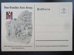 Postkarte Propaganda DRK - Allemagne