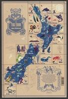 NEW ZEALAND 2009 A Tiki Tour Of New Zealand: Sheet Of 24 Stamps UM/MNH + Poster - Blocchi & Foglietti