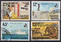 British Solomon Islands Used Set - Universal Expositions