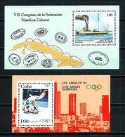 Cuba Nº HB-73-74 Nuevo Cat.10,50€ - Hojas Y Bloques