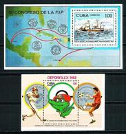 Cuba Nº HB-71-72 Nuevo Cat.10,50€ - Hojas Y Bloques