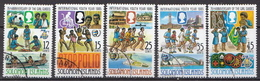 British Solomon Islands Used Set And SS - Childhood & Youth