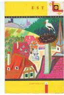 SHELL  Cartoguide SHELL BERRE N°5 EST Année 1959 Couverture De Jean Colin - Cartes Routières