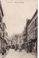 LEUVEN LOUVAIN RUE DE BRUXELLES GUERRE 14 18 CACHET A DATE LOEWEN BELGIEN 15 7 15C - Leuven