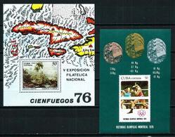 Cuba Nº HB-47-48 Nuevo - Blocks & Kleinbögen