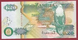 Zambie 20 Kwacha  1992  ----UNC - Zambie